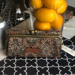 Tapestry Wallet New W Tags !